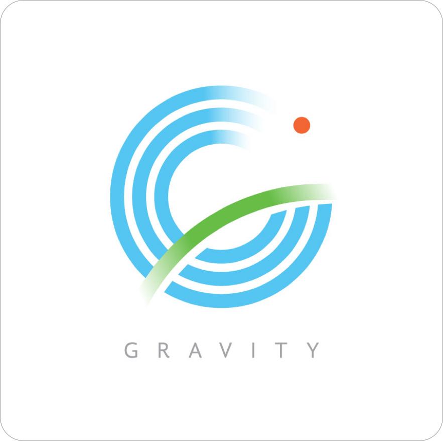 Gravity Logo - Square