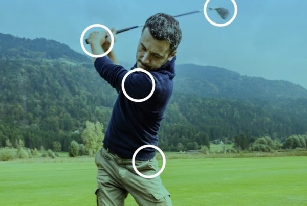 Golf swing, main points of Supply Chain Synchronization
